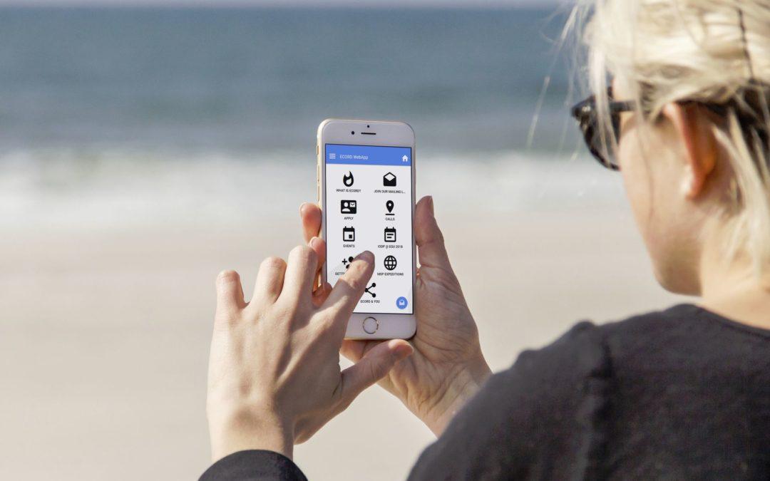 Réalisation d'une Web Application multi-plateforme: iOS, Androïd…
