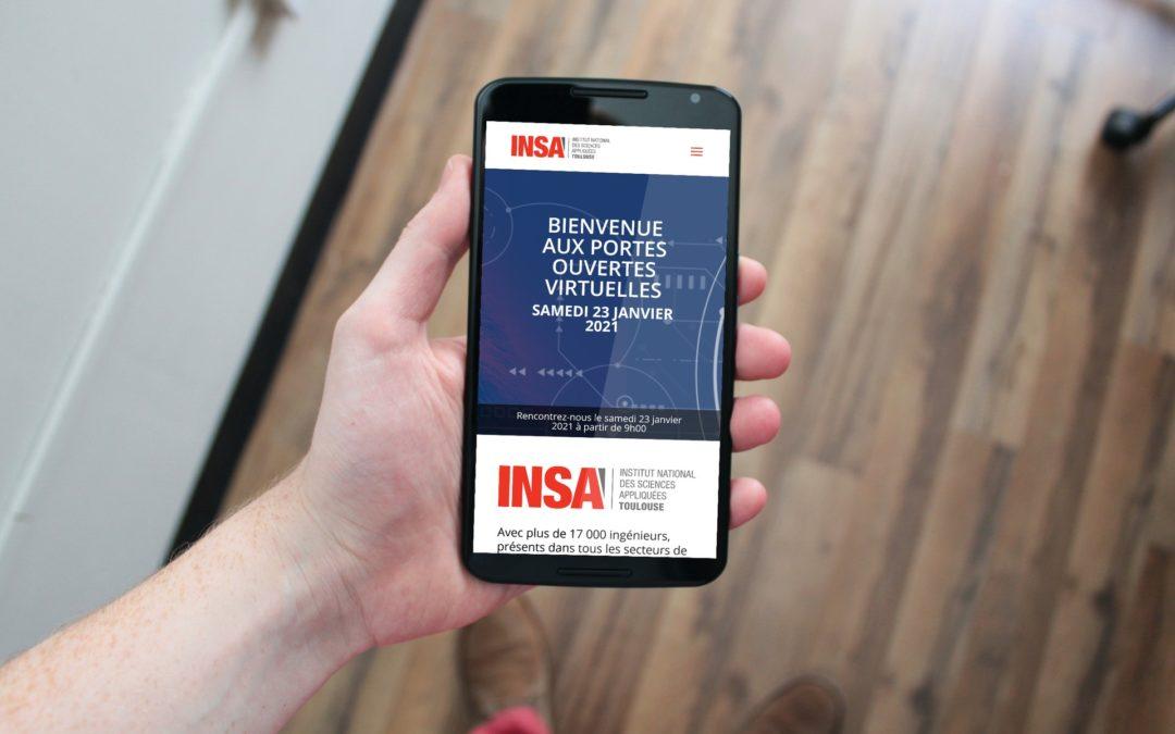 Portes ouvertes virtuelles de l'INSA Toulouse